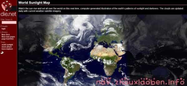 World Sunlight Map的截图