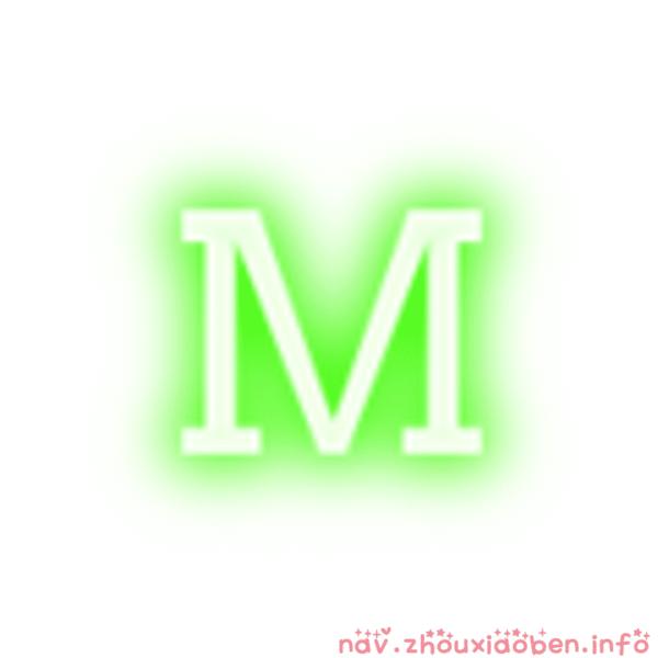Magic Keyboard字符跳动的logo