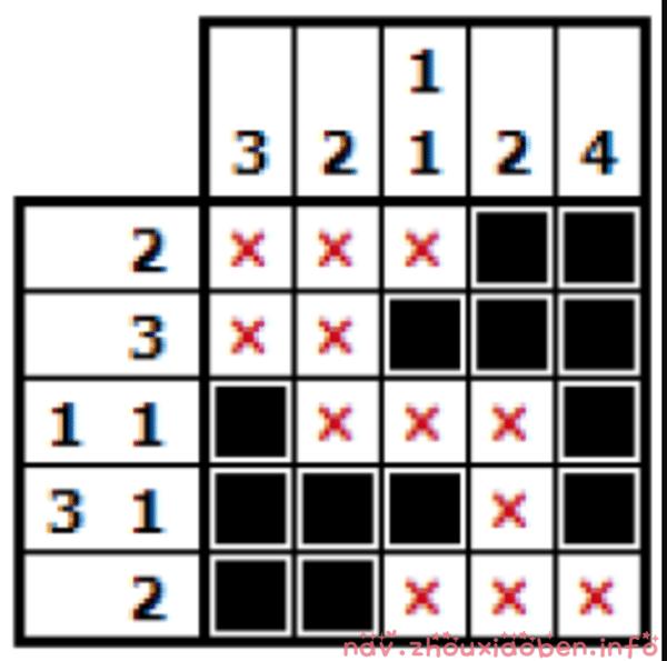 Nonograms拼图游戏的logo