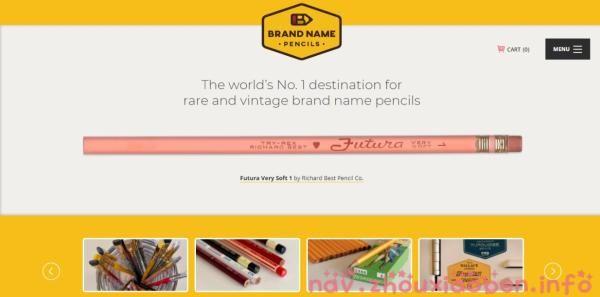 铅笔收藏馆的截图